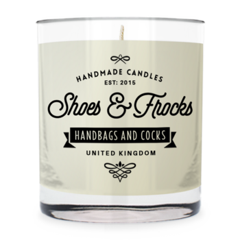 Shoes & frocks - handbags and cocks ~ scented candle