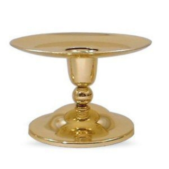 Traditional Pillar Brass Candle Holder
