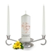 Personalised On Your Wedding Day Unity Candle Set