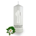 Personalised Celtic Cross  Wedding Candle
