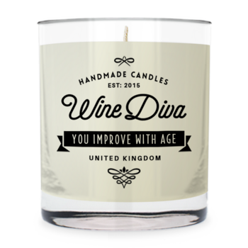 Wine Diva ~ Scented Candle