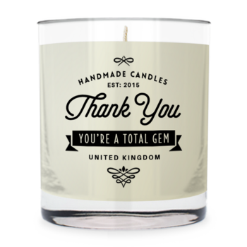 Thank You ~ Scented Candle