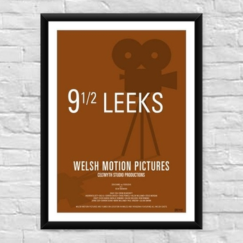 9 1/2 Leeks Welsh Film Poster