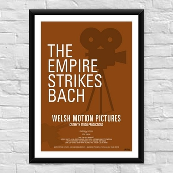 The Empire Strikes Bach Welsh Film Poster