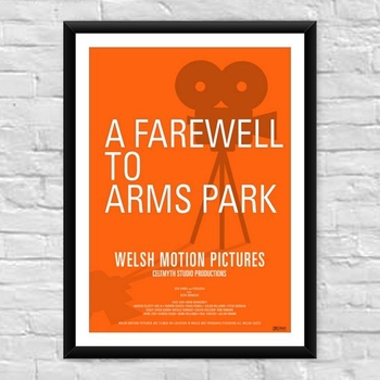 A Farewell To Arms Park Welsh Film Poster