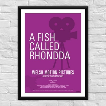 A Fish called Rhondda Welsh Film Poster