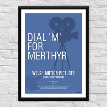 Dial M for Myrthyr Welsh Film Poster