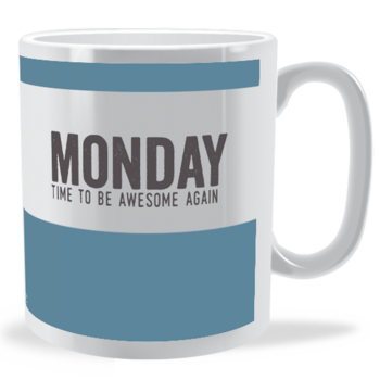 MONDAY - Days of the Week Mug
