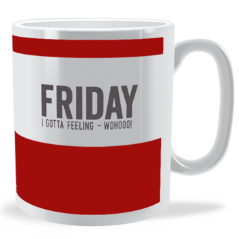 FRIDAY - Days of the Week Mug