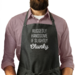 Ruggedly Handsome if Slightly Chunky Man Apron