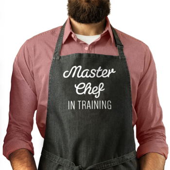 Master Chef in Training - Man Apron