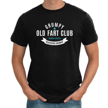 Personalised Grumpy Old Fart T shirt