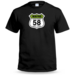 Personalised Route Badge mens T shirt