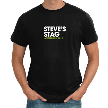 Cover Story Personalised Stag T shirt