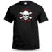 Jolly Roger Personalised Stag T shirt