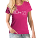 Name & Sub Text  Personalised Script T shirt