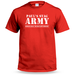 Stag Army Personalised T shirt