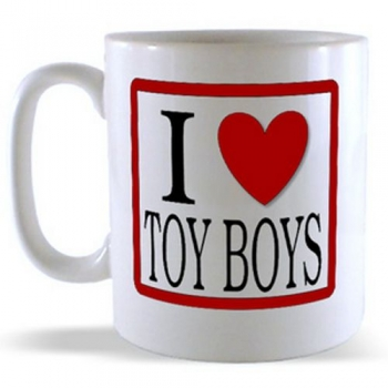 I Love Toy Boys Mug