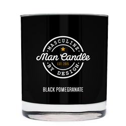 Black Pomegranate ~ Man Candle