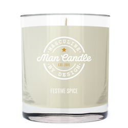 Festive Spice ~ Man Candle