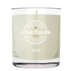 Fireside ~ Man Candle