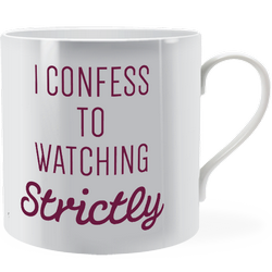 I confess to watching strictly ~ Man Mug