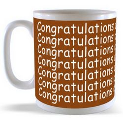 Congratulations on your Promotion Mug