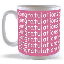Congratulations on your Engagement Mug