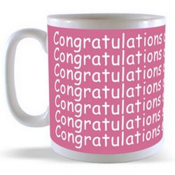 Congratulations on your New baby Mug