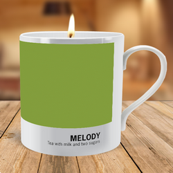 Personalised Swatch Scented Candle Mug