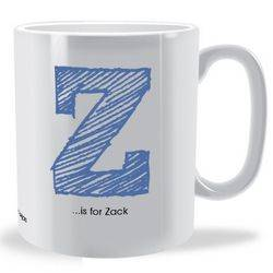 Personalised Alphabet Mug