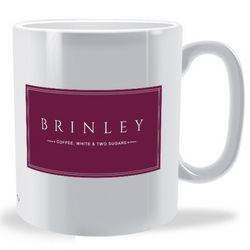 Personalised Elegant mug