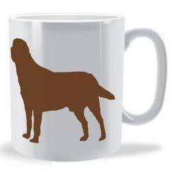 Personalised Labrador Retriever mug