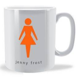 Personalised Female Sign Mug