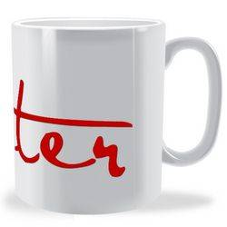 Personalised Signature Name Mug