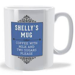 Personalised Vintage Sign Mug
