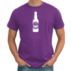 Beer Bottle Personalised Birthday T shirt