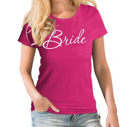 Bride To Be Script Wedding T shirt
