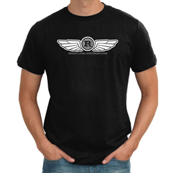 Flying Wings Personalised Stag T shirt