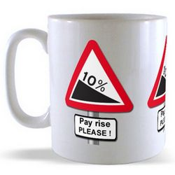 Payrise - Road Sign Mug