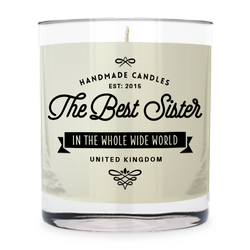 The Best Sister ~ Scented Candle