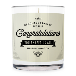 Congratulations ~ Scented Candle