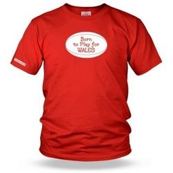 Born to play for wales Kids T shirt