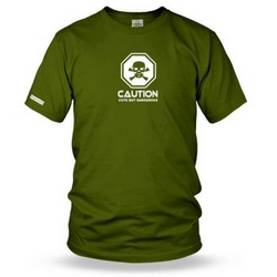 Caution cute but dangerous Mens T shirt