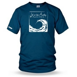 Life is Like Surfing DragonPower Mens t shirt
