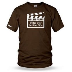 Bridge over the River Wye - Welsh Film Mens t shirt