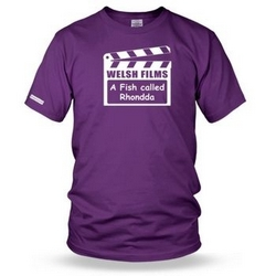A Fish Called Rhondda - Welsh Film Mens t shirt