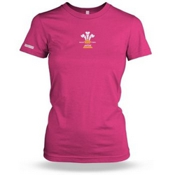Personalised 3 Feathers Ladies T shirt