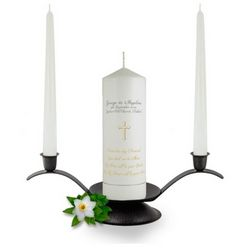 Personalised From this day Forward Unity Candle Set