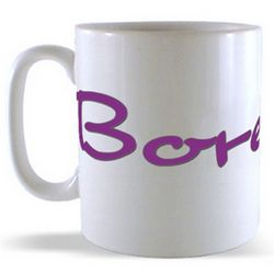 Bore Da! - Greetings from Wales Billboard Mug